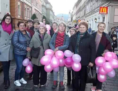 1 Octombrie – Ziua Mondiala de Lupta Impotriva Cancerului la San – Brasov